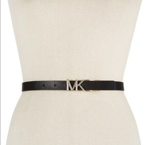 MICHAEL Kors Reversible Leather XL Skinny Belt